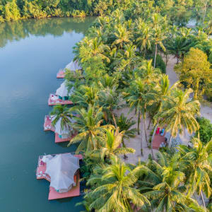 4 Rivers Floating Lodge Package de Phnom Penh: exterior: overview