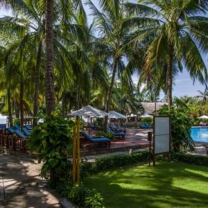 Blue Ocean Resort à Phan Thiet: path to beach or pool