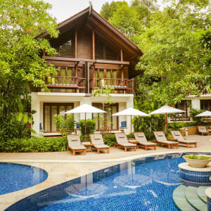 The Tubkaak Krabi Boutique Resort: Rooms by the pool