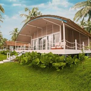 Taj Exotica Resort & Spa in Andamanen: Taj Exotica   from outside