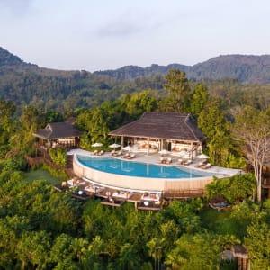 Six Senses Yao Noi in Ko Yao:  The Hilltop Aerial View