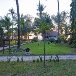 Thande Beach Hotel in Ngapali: View From Deluxe Garden View