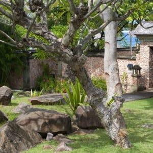 The Oberoi Beach Resort, Lombok:  Villa entrance