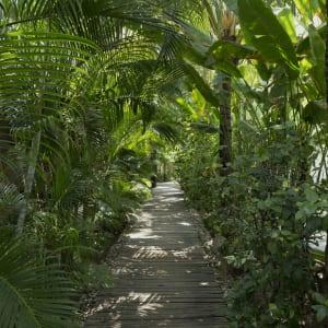 Ngapali Bay Villas & Spa: Walkway to the Beach