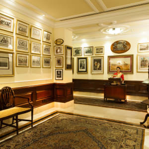 The Imperial in Delhi: 1911 Restaurant- Entrance (All-day Dining Restaurant)