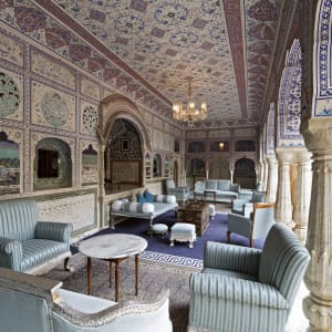 Samode Palace in Jaipur: