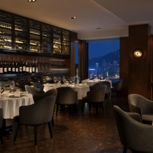 Hotel ICON in Hong Kong: Above & Beyond Dining Area
