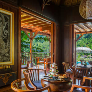 Mandapa, A Ritz-Carlton Reserve in Ubud: Afternoon Tea at The Library