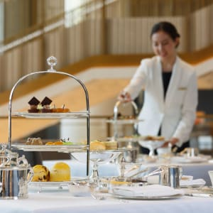 The Peninsula à Pékin: Afternoon Tea in The Lobby