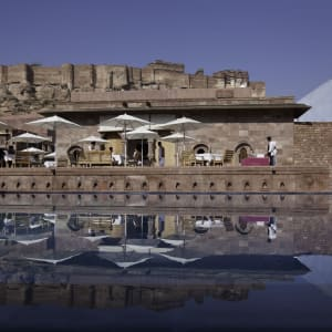 RAAS in Jodhpur: Baradari Restaurant View