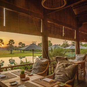 Phum Baitang in Siem Reap: Bay Phsar - Pool Restaurant
