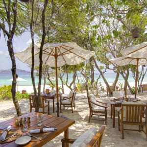 Amanpulo in Palawan: Beach Club Grove