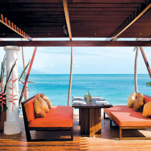 Melati Beach Resort & Spa in Ko Samui: Beach Restaurant