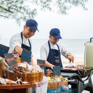 Let's Sea Hua Hin Al Fresco Resort: Beachfront BBQ