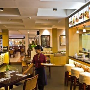 Bali Rani in Südbali: Brasserie