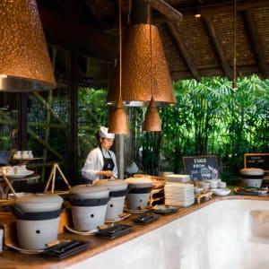 Six Senses Yao Noi in Ko Yao:  Breakfast at Living room