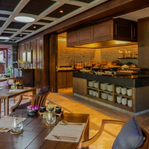 Mandapa, A Ritz-Carlton Reserve in Ubud: Breakfast Buffet at Sawah Terrace