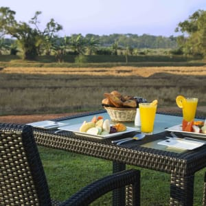 Aliya Resort & Spa in Sigiriya: Breakfast -Garden