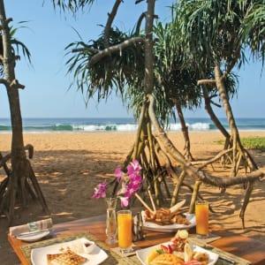Aditya Resort à Hikkaduwa: Breakfast - wherever you choose to have it