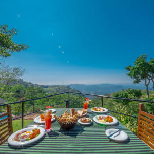 Melheim Resort in Ella/Haputale/Koslanda: Breakfast with a View