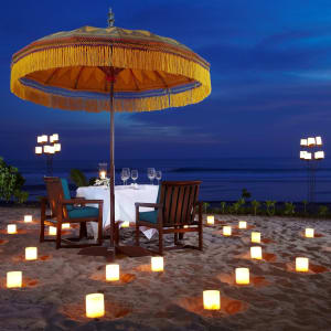 The Oberoi Beach Resort, Bali à Sud de Bali: Candlelight Dinner on the beach