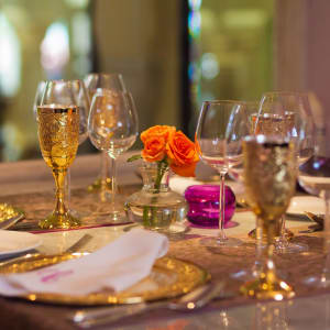 Jai Mahal Palace in Jaipur:  Cinnamon Indian Speciality Fine Dining