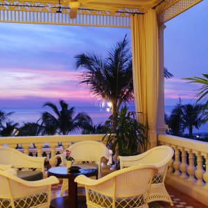 La Veranda Resort in Phu Quoc: Corner of Sunset bar