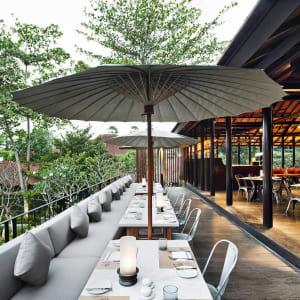 COMO Uma Ubud: Cucina outdoor terrace