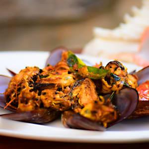 Niraamaya Retreats Surya Samudra à Kovalam: Culinary Universe