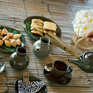 The Oberoi Beach Resort, Lombok: Daily afternoon Tea