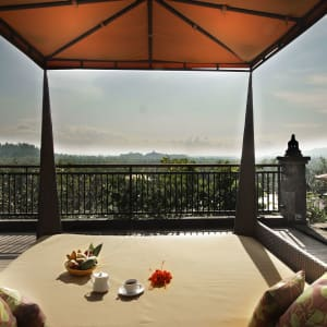 Plataran Borobudur Resort & Spa in Yogyakarta: Deck