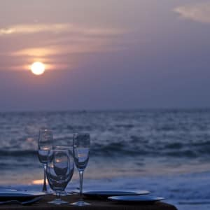 Niraamaya Retreats Surya Samudra à Kovalam: Dining