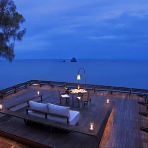 Six Senses Samui in Ko Samui: Dining on the Rocks Table 99