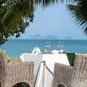 Koyao Island Resort in Ko Yao: Dinner in garden