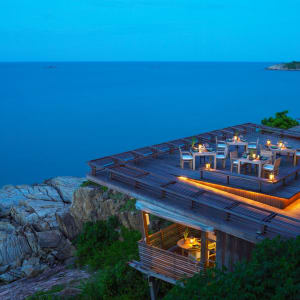 Six Senses Samui in Ko Samui: f&b: Dining on the Rocks