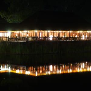Pristine Lotus Resort in Inle Lake: Floating Duplex | Dining