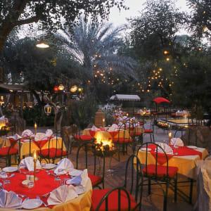 The Ajit Bhawan in Jodhpur: Garden Dining