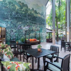 Siam Bayshore in Pattaya: Garden Pavilion Cafe