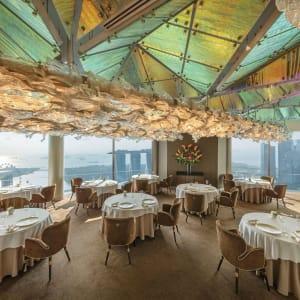 Swissotel The Stamford in Singapur: JAAN Interior