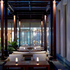 Hyatt Centric MG Road Bangalore à Bengaluru: Liquid Lounge and Bar Outdoors