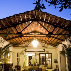 Baghvan Lodge in Pench: Lobby Lounge