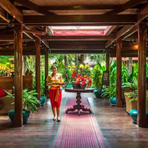 Angkor Village Hotel à Siem Reap: Lobby Lounge