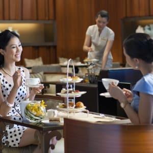 Mandarin Oriental Macau: Lobby lounge