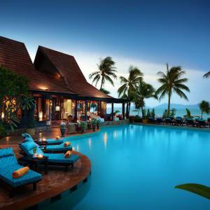 Bo Phut Resort & Spa à Ko Samui: L'Ocean - Beach_Restaurant