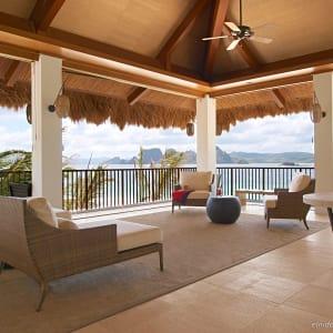 El Nido Resorts Pangulasian Island in Palawan: Lounge Area