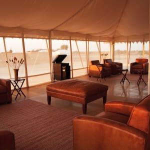 The Serai Desert Camp à Désert du Thar: Lounge Bar