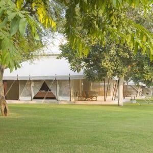 Aman-i-Khas à Ranthambore: Lounge Tent Exterior