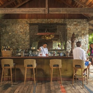 Wa Ale in Mergui Archipel: Main pavillion bar