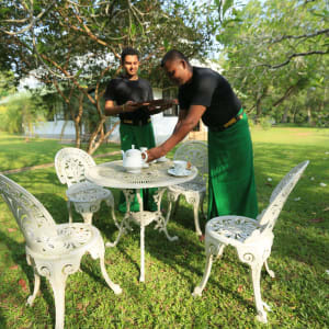 Horathapola Coconut Estate in Yakvila: meals outdoors