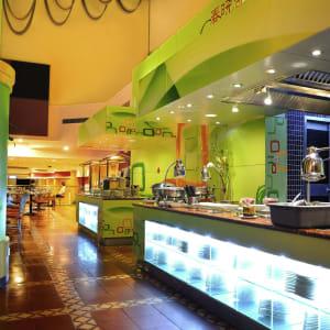 Novotel Beijing Xin Qiao in Peking: Open kitchen
